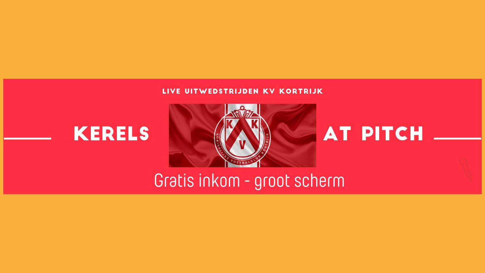 KV Kortrijk uitwedstrijden live in Pitch